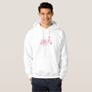 Breast Cancer Pink Ribbon Awareness Survivor Hoodie