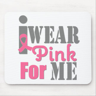 BREAST CANCER PINK RIBBON For Me Mousepad