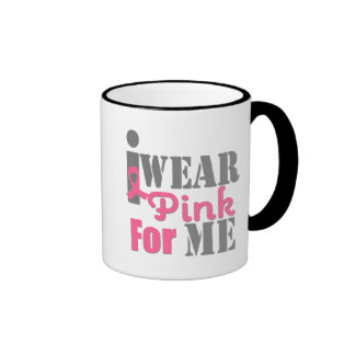 BREAST CANCER PINK RIBBON For Me Coffee Mug