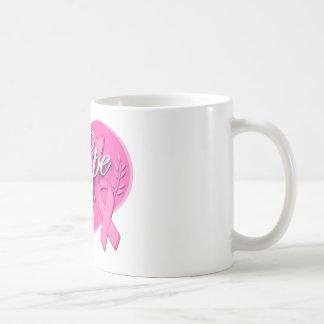 Breast Cancer Pink Ribbon HOPE Heart Coffee Mug