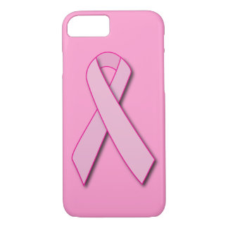 Breast Cancer Pink Ribbon iPhone 7 Case