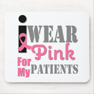 BREAST CANCER PINK RIBBON Patients Mouse Pad
