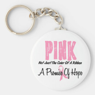 Breast Cancer Pink Ribbon Symbol of Hope Key Chains