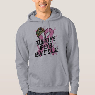 Breast Cancer Ready For Battle Hoodie