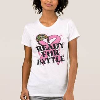 Breast Cancer Ready For Battle T Shirt
