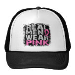 Breast Cancer Real Men Wear Pink Cap