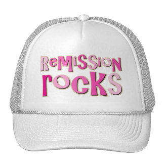 Breast Cancer Remission Rocks Cap