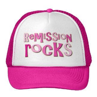 Breast Cancer Remission Rocks Cap
