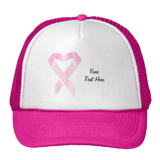 Breast Cancer Ribbon (customizable) Cap