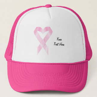 Breast Cancer Ribbon (customizable) Trucker Hat