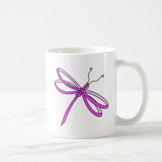 Breast Cancer Ribbon Dragonfly1 Mug