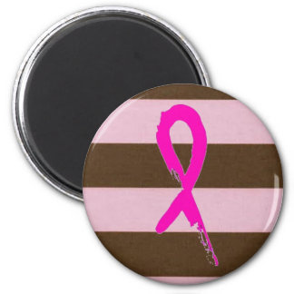 breast cancer ribbon magnet