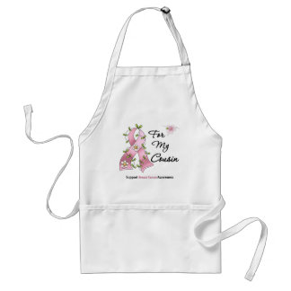 Breast Cancer Support Cousin Standard Apron