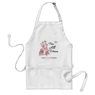 Breast Cancer Support For All Women Standard Apron