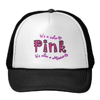 Breast Cancer Support Gifts Hats
