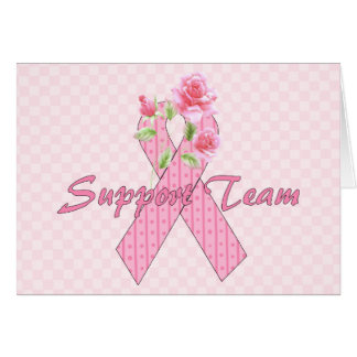 Breast Cancer Support Team Card