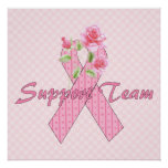 Breast Cancer Support Team Posters