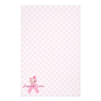 Breast Cancer Support Team Personalized Stationery