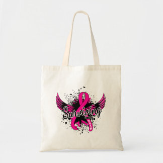 Breast Cancer Surviving Since 2016 Tote Bag