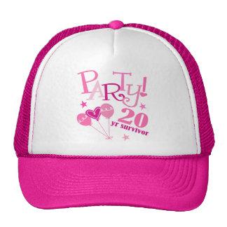 Breast Cancer Survivor 20 Year Cap