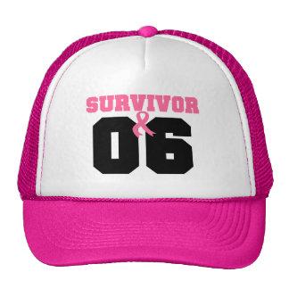 Breast Cancer Survivor 6 Years Hat