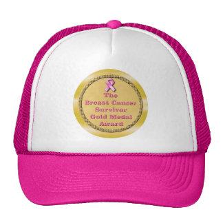 Breast Cancer Survivor Award Hat