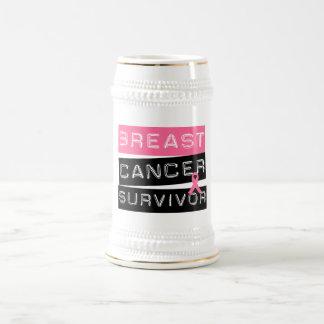 Breast Cancer Survivor Beer Steins