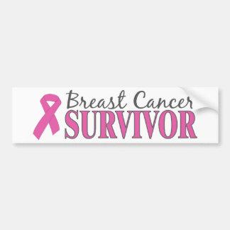 Breast Cancer Survivor Bumper Stickers