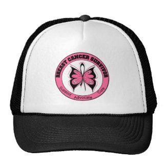 Breast Cancer Survivor Butterfly Cap