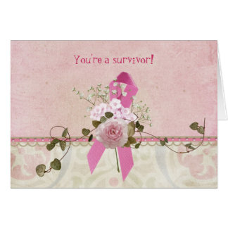 Breast Cancer Survivor Card