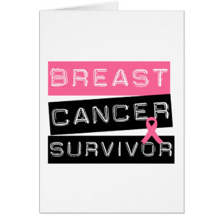 Breast Cancer Survivor Greeting Card