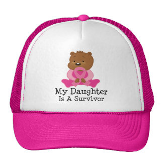 Breast Cancer Survivor Daughter Trucker Hats
