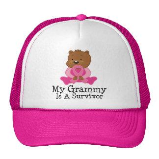 Breast Cancer Survivor Grammy Hats