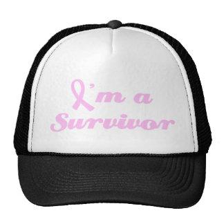 Breast Cancer Survivor Trucker Hats