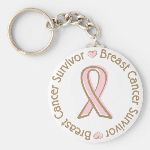 Breast Cancer Survivor Keychains