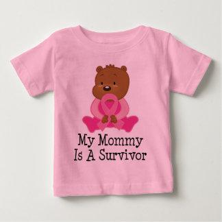 Breast Cancer Survivor Mummy Baby T-Shirt