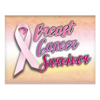 Breast Cancer Survivor Postcard