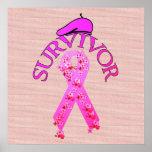 Breast Cancer Survivor Posters