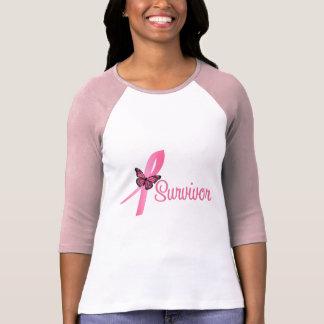 Breast Cancer Survivor Ribbon Tshirt
