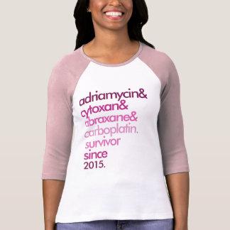 Breast Cancer Survivor Shirt Customizable 2-Sided