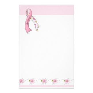 Breast Cancer Survivor Stationery Paper