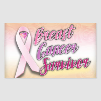 Breast Cancer Survivor Stickers