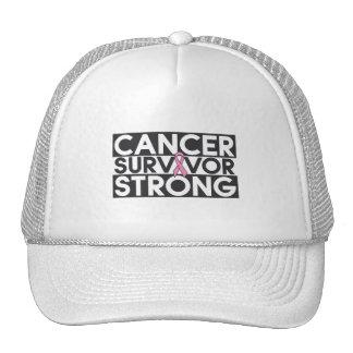 Breast Cancer Survivor Strong Mesh Hat