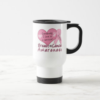Breast Cancer Survivor Travel Mug