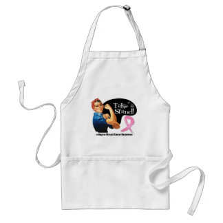 Breast Cancer Take a Stand Apron