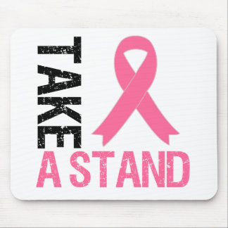 Breast Cancer Take A Stand Mouse Pad
