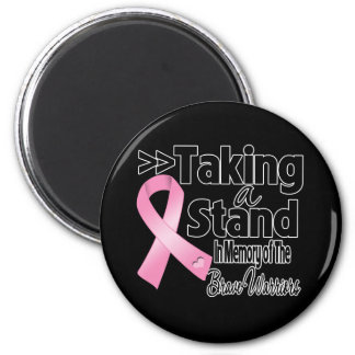 Breast Cancer Taking a Stand Brave Warriors Magnet