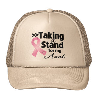 Breast Cancer Taking a Stand For My Aunt Trucker Hats