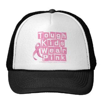 Breast Cancer Tough Kids Wear Pink Trucker Hats