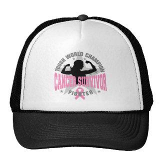 Breast Cancer Tough Survivor Hat